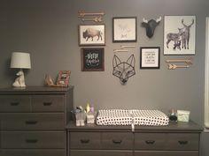 Baby Bedroom, Baby Boy Rooms, Baby Boy Nurseries, Kids Bedroom, Cabin Nursery, Nursery Room, Nursery Collage, Tribal Nursery, Adventure Nursery
