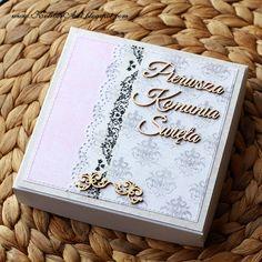 Znalezione obrazy dla zapytania decoupage pudełko komunijne Decoupage, Cover, Books, Art, Art Background, Libros, Book, Kunst, Performing Arts
