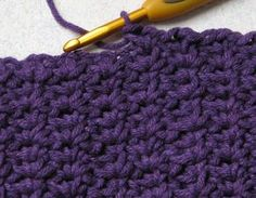 Spider Stitch. The spider stitch is made with an odd number of stitches. After deciding how many stitches you will need for your project you need to add 2 extra for your foundation chain.