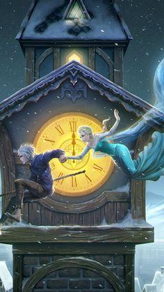 Jack Frost, Rainha Elsa, Animação 3d, Disney