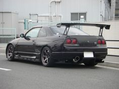 R33 GTR | 1995 Nissan Skyline R33 GTR T04Z Single Turbo + BNR34 Front Face