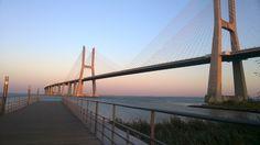 Lisbon – Vasco da Gama bridge.