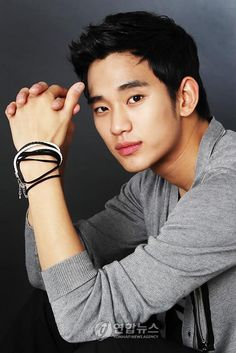 Kim Soo Hyun (currently starring in Moon Embraces the Sun) <3 dreamy~~