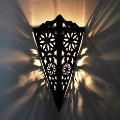 XL Lampe de mur oriental Abat jour Marocaine Applique murale Tola