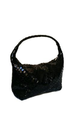 Hey, I found this really awesome Etsy listing at https://www.etsy.com/listing/218805982/black-hobo-purse-texture-leather-bag