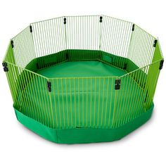 Looks more secure than typical play pens. Syrians like to escape Bunny Cages, Hamster Cages, Rabbit Pen, Pet Rabbit, Bunny Play Pen, Puppy Pens, Class Pet, Rabbit Life, Pet Guinea Pigs