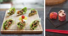 Crumbs Magazine Journal: The supper club: tea party at Lahloo! #sushi #tea