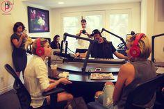 Chanel West Coast interview on Bompop Radio  #chanel #chanelwestcoast #radio #hollywood #california  #interview