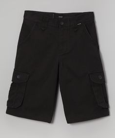 Love this Hurley Black Cargo Shorts - Infant, Toddler & Boys by Hurley on #zulily! #zulilyfinds