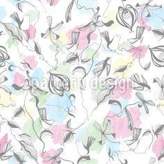 Vogel Fantasie - Wunderschön und hauchzart! Zarte Vogel-Ornamente und Fantasieblumen auf Wasserfarben.