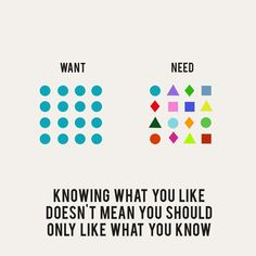 Need to Want Less: Modern Philosophy via Graphic Design via Brain Pickings