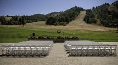 Utah Wedding Photographer Excalibur Photography. Snowbasin Lodge in Huntsville, Utah is a spectacular wedding location.Mountains, flowers, snow, indoor our outdoors, a perfect blend.