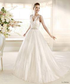 la sposa 2013 bridal moira sleeveless v neck wedding dress