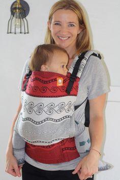 (Toddler Size) Half Wrap Conversion Tula - Oscha Aria Leto