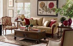 soft and hard, textured and colored, living room