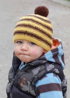 Stripy Beanie for Kids