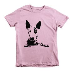 4be04bef English Bull Terrier Girl Tshirt, Dog Boy T Shirt, Personalized Kids  Clothes, Bull Terrier Gifts, 2 to 12 Years, Kidswear, Gift For Niece