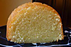 Lemon cake with lemony sugar wash