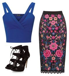 """""""Untitled #195"""" by ema-jones on Polyvore featuring Miss Selfridge"""