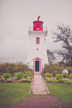 VICTORIA LIGHTHOUSE -Prince Edward Island
