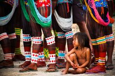 Kayapo people, Brazil