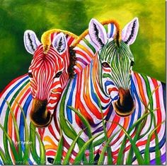 Lollipop zebra's