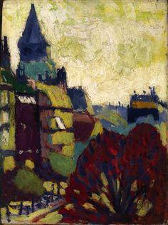 peira:    Henry Lyman Saÿen: St. Germain des Pres (1909-1912) via Smithsonian American Art Museum