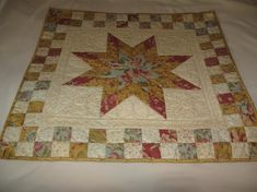 Another neat jelly roll quilt! - Lone Star Magic Jelly Roll