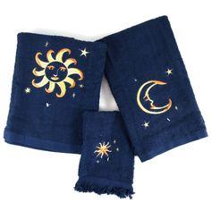 Moon and Stars Bathroom Accessories