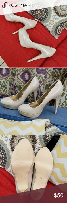 "Nwot - G by Guess winna style size 10 Nwot  Size 10 Beige platform pump aka ""light natural""  G by Guess G by Guess Shoes Heels"