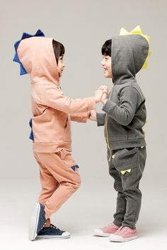 Monster Active Hoodies Set for unisex kids clothing at colormewhimsy 1