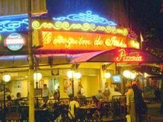 Botequim do Itahy at night