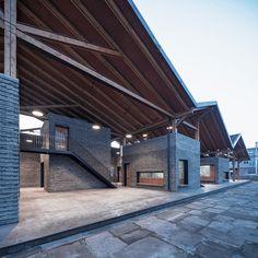 Gallery of Dongziguan Villagers' Activity Center / gad x line+ studio - 10