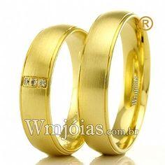 ac3ca37c50c Aliança de noivado e casamento Aliança em ouro Amarelo 18k 750 Peso  11