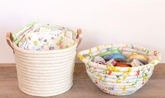 This Easy No Sew Rope Basket is so simple, it's practically fool-proof. Can't say that about all crafts!