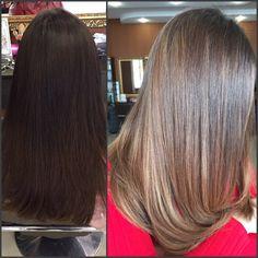 MATRIX Осветление волос на глубокую тупировку пудрой lm+оксид 6%+9% Тонирование cs 8a 8p 3vv soboost синий