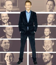 (gif) I try not to make plans. God always laughs at your plans. I'm going to keep the door open, and keep the pages blank, and see what gets painted upon it - Tom Hiddleston