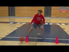 Do these stationary basketball dribbling drills each practice and see real improvement in your players dribbling and ball-handling skills. Basketball Tricks, Basketball Practice, Basketball Plays, Basketball Is Life, Basketball Workouts, Basketball Skills, Basketball Coach, Girls Basketball, Basketball Quotes