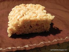 Apple Cinnamon Rice Krispie Treats