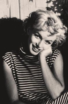 Marilyn Monroe photographed in Palm Springs by Ted Baron, Spring of 1954