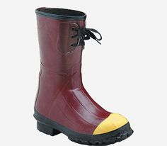 "LACROSSE Men/'s PACK-LITE YELLOW 11/"" OVERSHOE Boot Galoshes ~ Sizes 10  11  12"