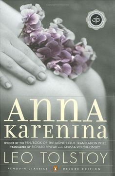 Anna Karenina by Leo Tolstoy... Inspired to read from another amazing book:  Elegance of the Hedgehog and @Molly Burris