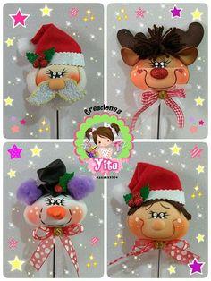 Christmas Diy, Christmas Ornaments, Cotton Candy, Santa, Patterns, Holiday Decor, Crafts, Creative Crafts, Creativity