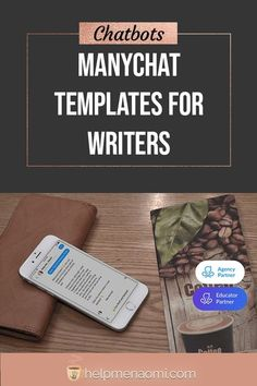 ManyChat Templates for Writers Facebook Marketing, Social Media Marketing, Writers Help, Freelance Writing Jobs, Starting Your Own Business, Copywriting, Business Branding, Pinterest Marketing, Social Media Tips