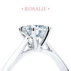 La ravissante bague de fiançailles Rosalie #baguedefiancailles #mariage • The Ravishing Rosalie Engagement Ring! #engagementring #wedding