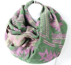Bohemian Tribal Scarf Boho Chunky Scarf Knit by myfashioncreations