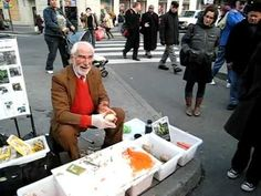 The Greatest Salesman in Union Square, NYC...