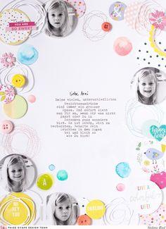 Steffi Ried Layout *Circles* mit den tollen Kollektionen von Paige Evans #dtpaigeevans #paigeevans #pinkpaislee #steffiried #scrapbooking #papercraft #ppohmyheart #ppfancyfree #crafts