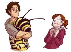 Nod, MK, and a cute Monarch caterpillar - Epic 2013