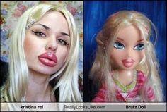 Totally Looks Like Bratz Doll
